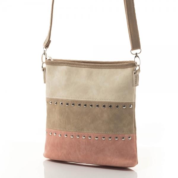 Γυναικεία τσάντα ώμου Stilno 1522-38 - Ροδακινί fa182de3441
