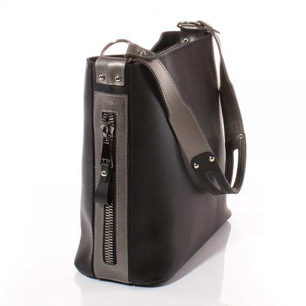 cfb8599bd98 Дамска ежедневна чанта, Цвят Черен Дамска ежедневна чанта, ...