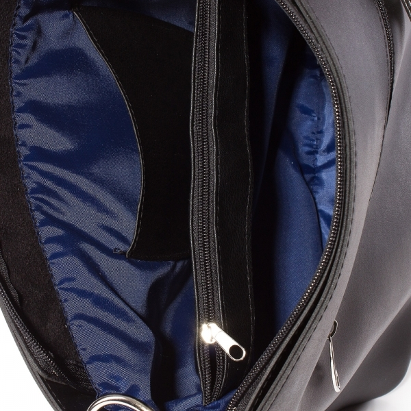 d7c0d278a97 Дамска чанта Грета 1563-08 - Черен / Графит
