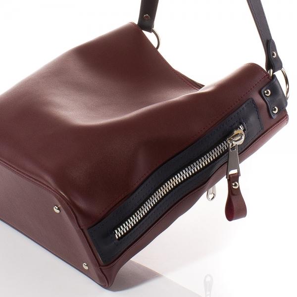 fd4c83971bb Дамска чанта Грета 1563-23 - Бордо